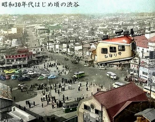 渋谷 ロープウェイ